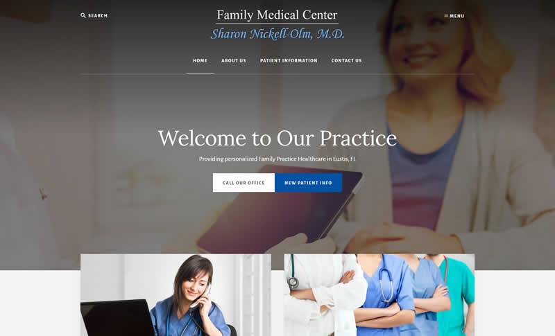 Tavares MD Website